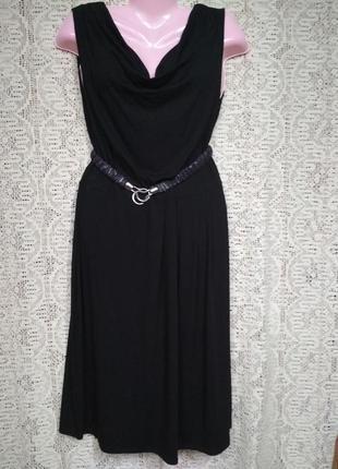 Чорна вільна, пряма сукня. оверсайс.