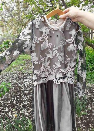 Нарядное платье для девочки 140-155 р.