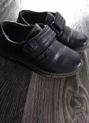 Туфли для мальчика, в хорошем состоянии