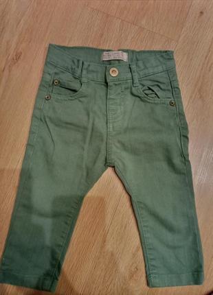 Детские штанишки штаны брюки брючки zara 74 размер