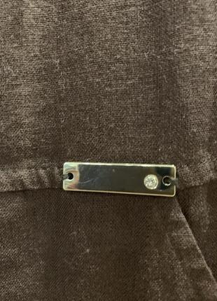 Платье льняное, италия. размер  l.4 фото