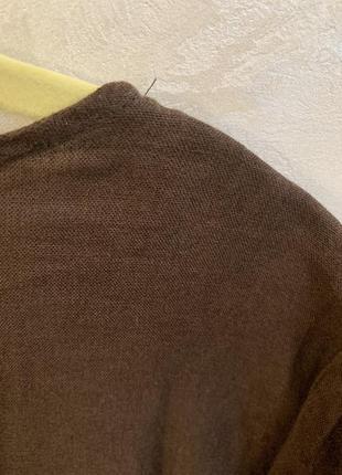 Платье льняное, италия. размер  l.5 фото