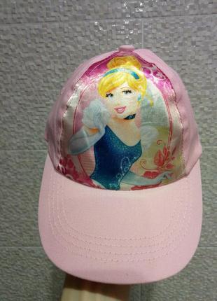 Красивая бейсболка кепка с принцессой disney