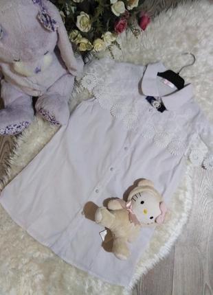Нарядна біла рубашка для школи!