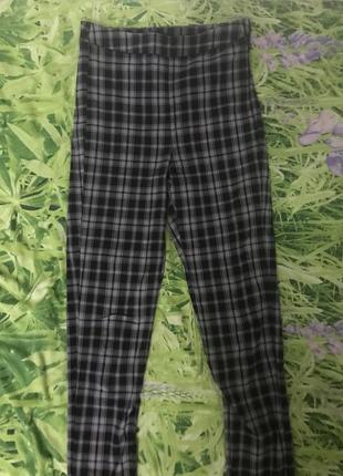 Обтягивающие брюки cropp