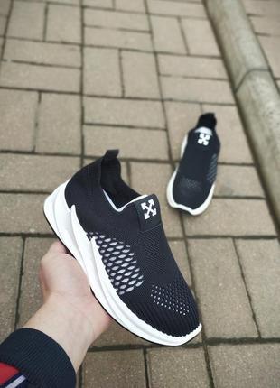 Бомбезные кроссовочки в стиле off