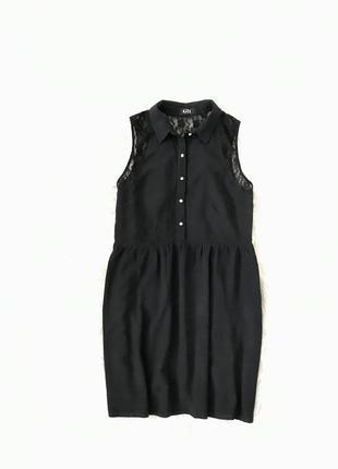 Легкое платье с ажурной спинкой m/l george usa 🇺🇸