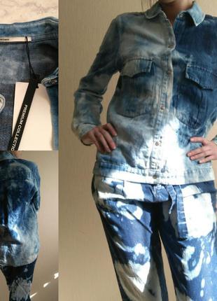 Куртка рубашка джинсовая жакет пиджак