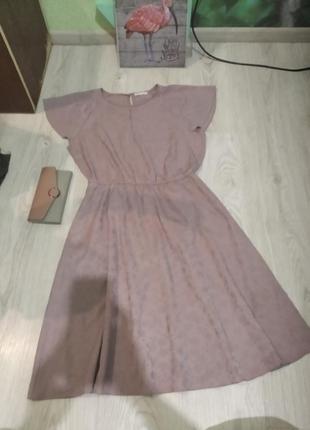 Очень нежное базовое платье сарафан