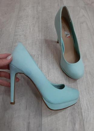 Мятные туфли #newlook