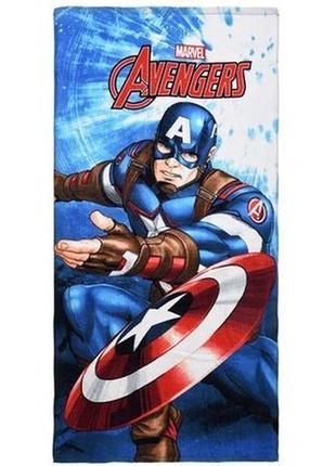Пляжное полотенце марвел мстители (marvel avengers) - 70х140 см