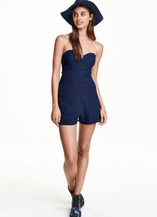 Комбинезон, летний с карманами  н&м, м платье
