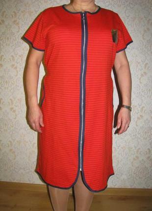 Женский тонкий летний домашний халат.
