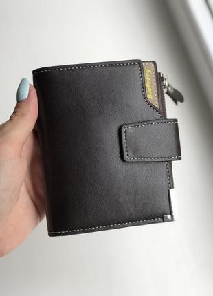 Мужской кошелек baellerry business mini brown