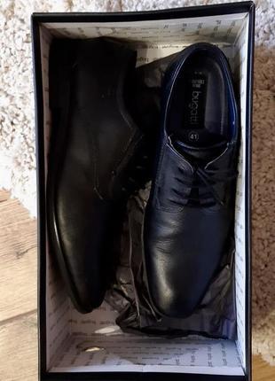 Туфли мужские демисезонные кожаные