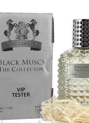 Тестер vip alexandre.j the collector black muscs 60 мл унисекс