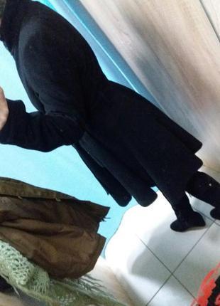 Пальто asos удлиненный зад