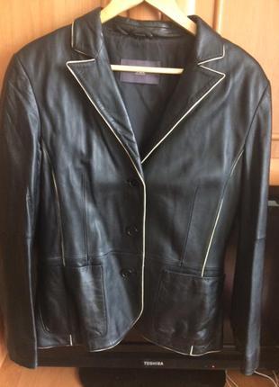 Кожаный пиджак tcm tchibo германия