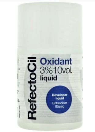 Оксидант для краски для бровей и ресниц refectocil oxidant (3%), 100 мл