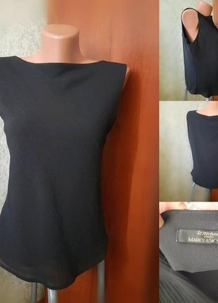 Блуза-майка без рукавов