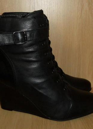 Ботинки next португалия натуральная кожа р. 39 ст. 26 см
