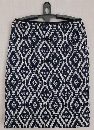 Красивая юбка m&s, сост. отличное. размер 12/40. сток!