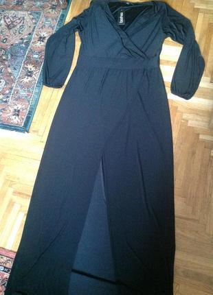 Новое английское длинное платье boohoo 56/20