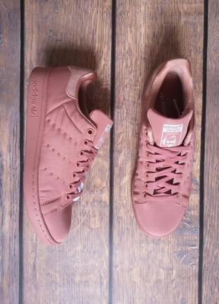 Кроссовки adidas stan smith пудровые, оригинал bz0395