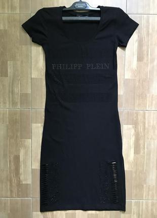 Платье женское миди обтягивающее черное