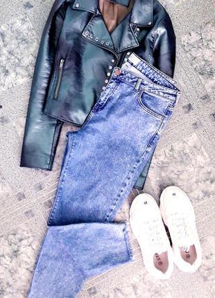 Оригинальные трендовые джинсы мамсы/момы/бойфренды батал new look mom/boyfriend.