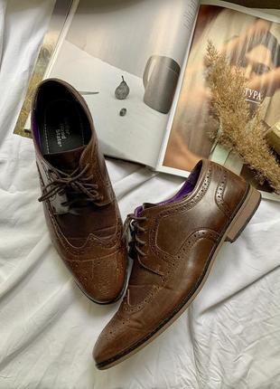 Туфли мужские лоферы на шнурке2 фото