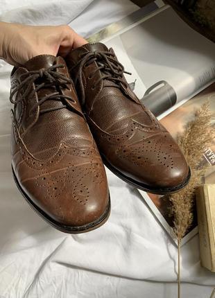 Туфли мужские лоферы на шнурке3 фото