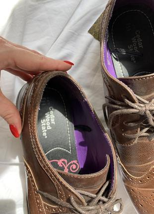 Туфли мужские лоферы на шнурке6 фото