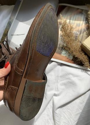 Туфли мужские лоферы на шнурке7 фото