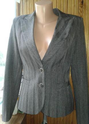 Пиджак жакет деловой с люрексом