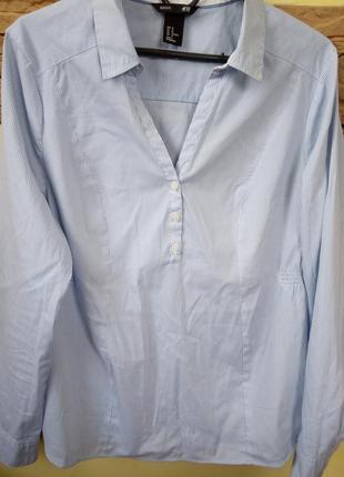 Сорочка в полоску h&m