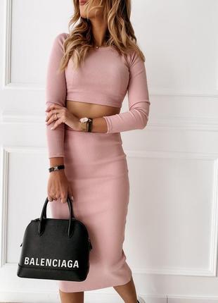 Костюм 👑топ + юбка качество 👍 цена