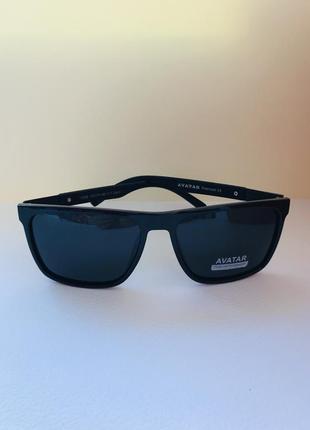 Очки солнцезащитные мужские вайфарер полароид
