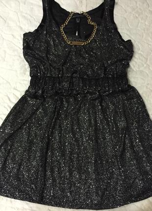 Новое платье mango с блестками