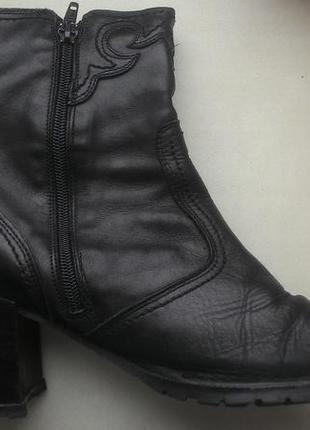 Кожаные осенние ботинки от joe sanhez