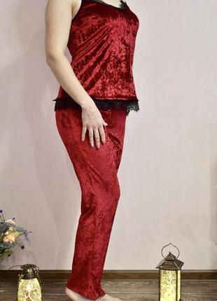 Пижама штаны + майка костюм