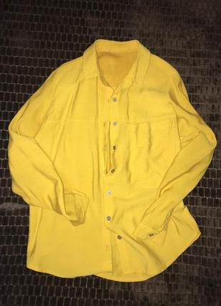 Рубашка трендового кольору