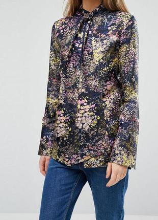 Ваша идеальная блуза 100% натуральный шелк  бренд warehouse