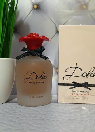 🌹оригинал 🌹75 мл dolce & gabbana dolce rosa excelsa цветочный,  нежный