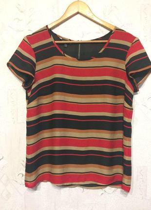 Laura ashley. лёгкая блуза в полоску