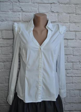 Блузка, белая рубашка tally weijl, м