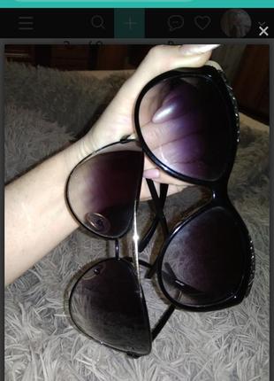Солнцезащитные очки кошка