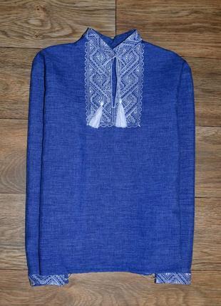 Вишиванка,сорочка вишиванка, рубашка-вышиванка для мальчика 9-10 лет