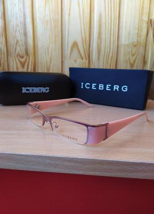 Винтажные очки iceberg оправа6 фото