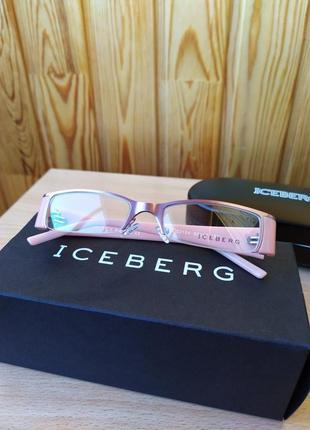 Винтажные очки iceberg оправа9 фото